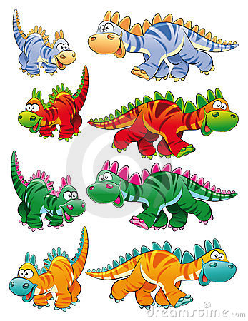 Types de dinosaurs