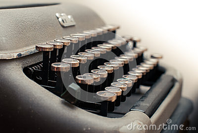 Typewriter Hebrew keyboard