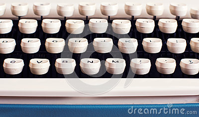 Typewriter Keyboard Stock Photography - Image: 25178002