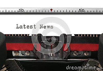 Typewriter Latest News
