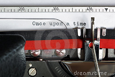 Typewriter - Once upon a time
