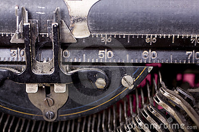 Typewriter Ruler