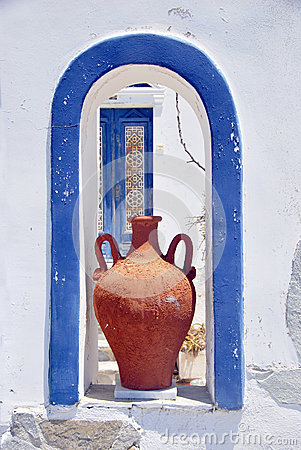 Typical architecture Santorini