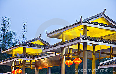 Typical Asian architecture