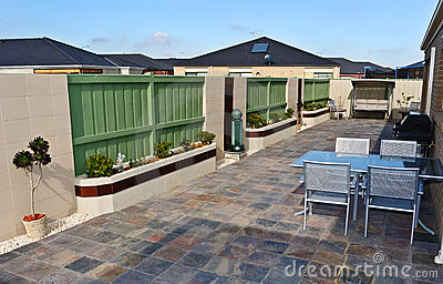 Typical Australian Backyard