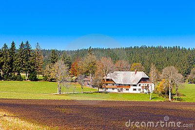 Typical Black Forest Farmhouse