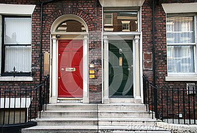 Typical british doors