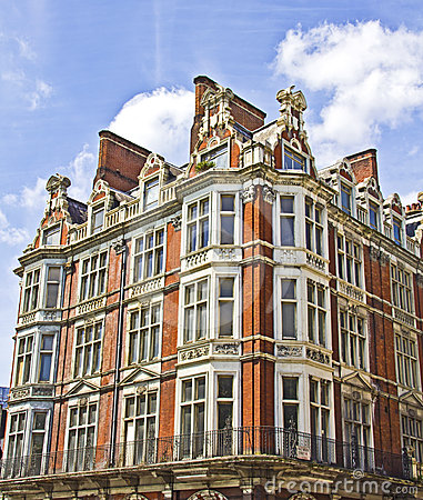Typical buildings in London