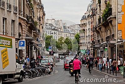 Typical Corner of Paris France Editorial Image
