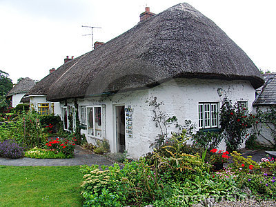 Typical Cottage in Ireland