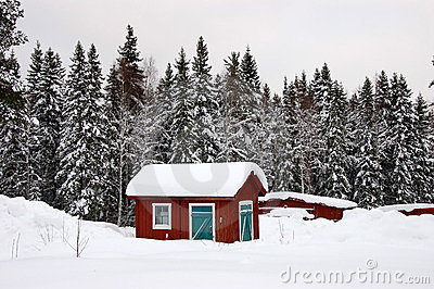 Typical cottage in Sweden