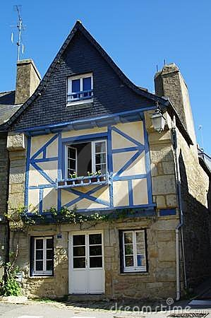 Typical country house in brittany