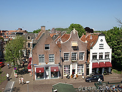 Typical dutch monumental stores