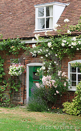 Typical English cottage