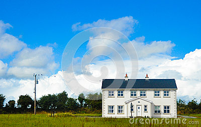 Typical house in Ireland