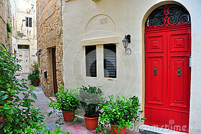 Typical house in Malta