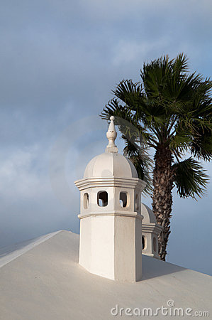Typical Lanzarote Chimneys