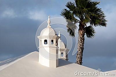 Typical Lanzarote Chimneys