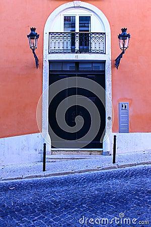 Typical Lisbon Door
