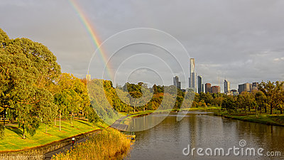 A typical melbourne autumn day
