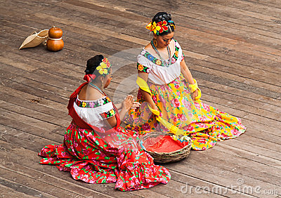 Typical Mexican Dance Editorial Photo