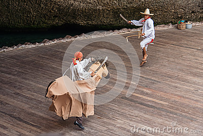 Typical Mexican Dance Editorial Stock Photo