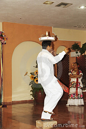Typical Mexican dancer Editorial Stock Image