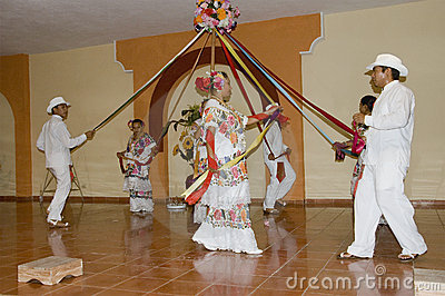 Typical Mexican dancers Editorial Photography