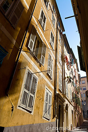 Typical Nice narrow street