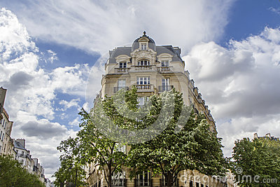 Typical parisian architecture