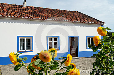 Typical Portuguese house