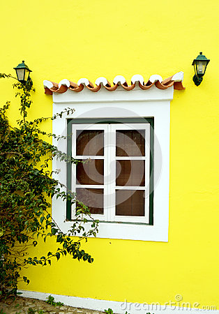 Typical portuguese window
