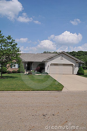 Typical Ranch Style Home