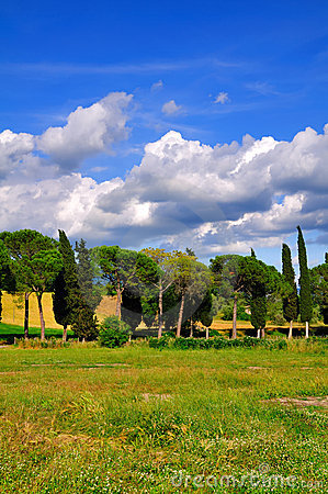 Typical Roman Countryside
