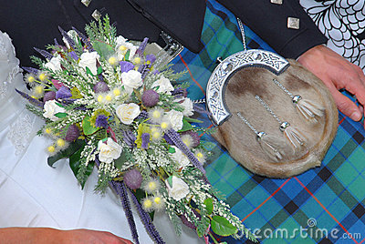 Typical scottish wedding, outlet,