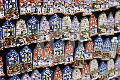 Typical Souvenirs In Amsterdam Royalty Free Stock Image - Image ...