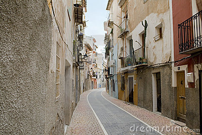Typical spanish street