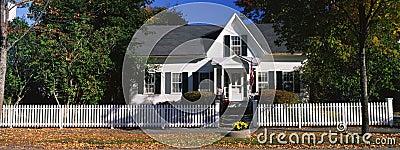Typical suburban single-family home