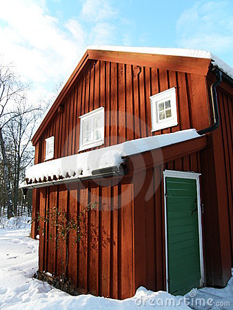 Typical swedish house