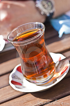 Typical Turkish Tea