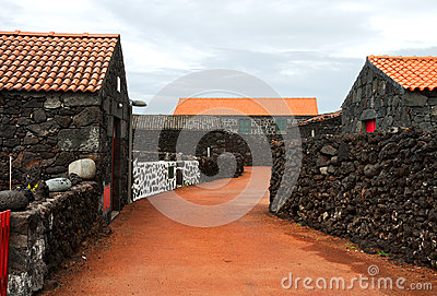 Typical village of the Azores