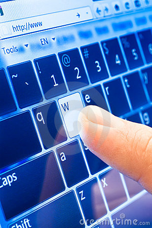 Typing on touch screen