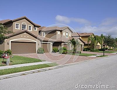Typische huizen in Napels Florida