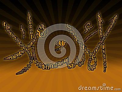 Typographic Islamic wallpaper