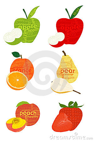 Typographical fruits