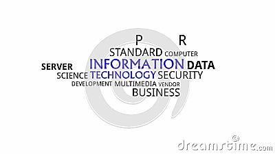 Typographie cinétique - technologie de l'information