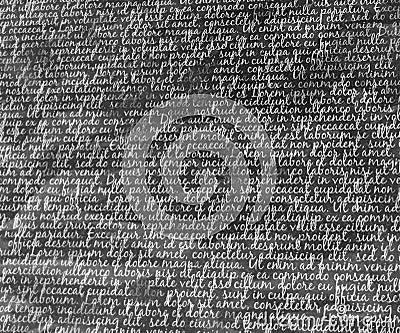 Typography Background Texture