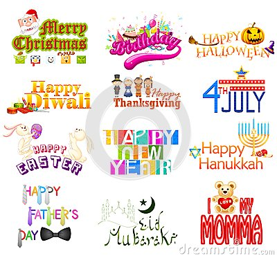 Typography Design for Holidays