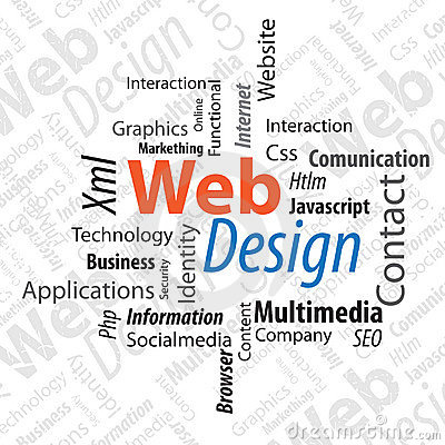 Free Typography Web Design Royalty Free Stock Images - 21908549