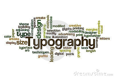 Typography - Word Cloud